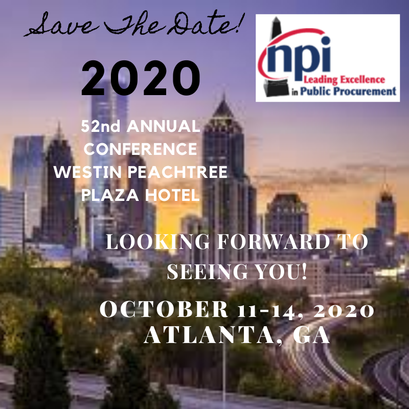 Save The Date 2020 Atlanta bb